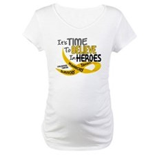Time To Believe CHILDHOOD CANCER Shirt