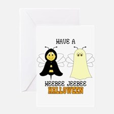 HeeBee JeeBee Halloween Greeting Card
