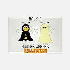 HeeBee JeeBee Halloween Rectangle Magnet