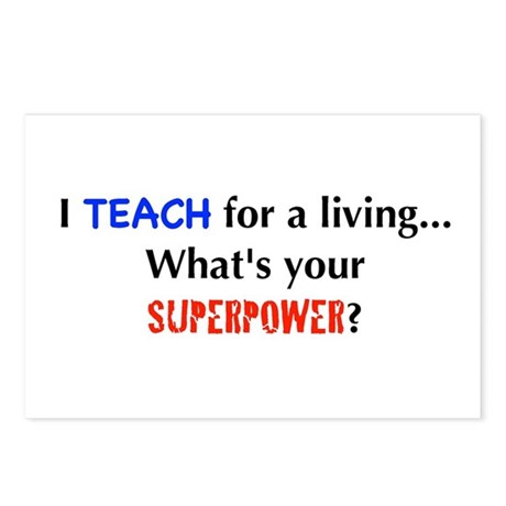 I teach for a living...what's Postcards (Package o