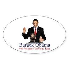 President Obama first black president Decal
