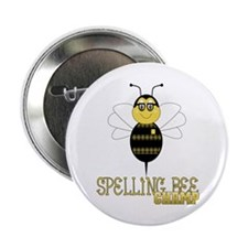 "Spelling Bee Champ 2.25"" Button"