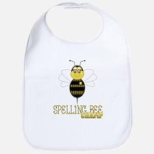 Spelling Bee Champ Bib