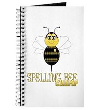 Spelling Bee Champ Journal