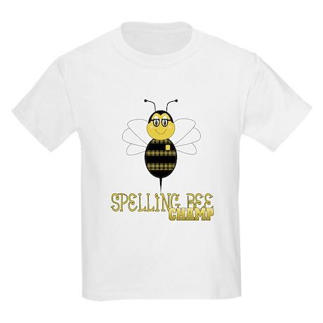 Spelling Bee Champ Kids Light T-Shirt