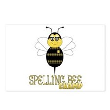 Spelling Bee Champ Postcards (Package of 8)