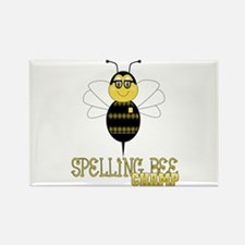 Spelling Bee Champ Rectangle Magnet