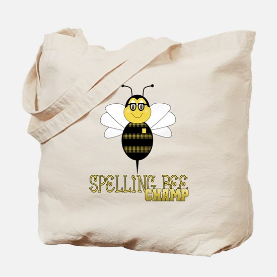 Spelling Bee Champ Tote Bag