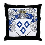 Van Impe Coat of Arms Throw Pillow