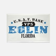 Eglin Air Force Base Rectangle Magnet