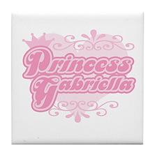 """Princess Gabriella"" Tile Coaster"