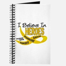 I Believe In Heroes CHILDHOOD CANCER Journal