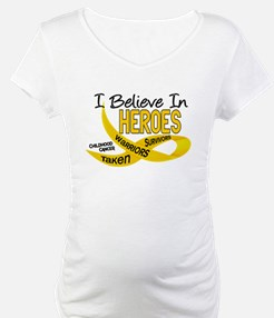 I Believe In Heroes CHILDHOOD CANCER Shirt