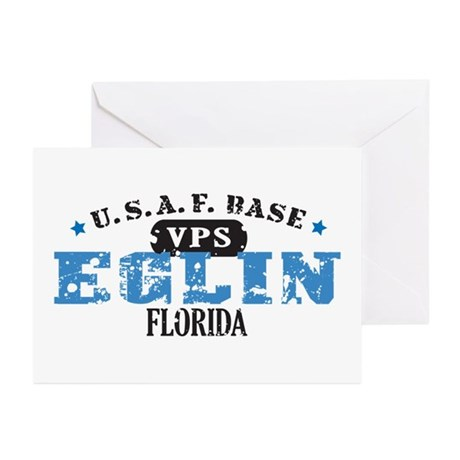 Eglin Air Force Base Greeting Cards (Pk of 20)
