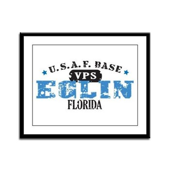 Eglin Air Force Base Framed Panel Print
