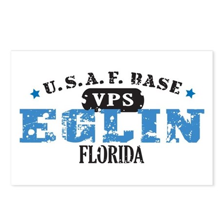 Eglin Air Force Base Postcards (Package of 8)