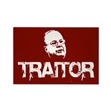 Karl Rove, traitor Rectangle Magnet