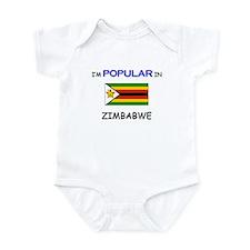 I'm Popular In ZIMBABWE Infant Bodysuit