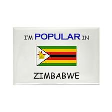 I'm Popular In ZIMBABWE Rectangle Magnet