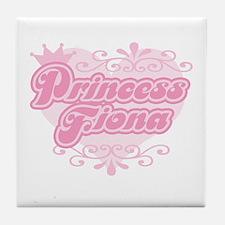 """Princess Fiona"" Tile Coaster"