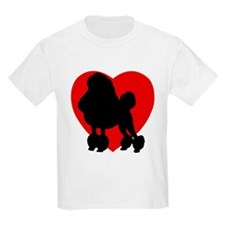 Poodle Valentine's Day T-Shirt