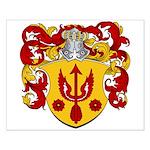 Van Kampen Coat of Arms Small Poster