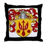 Van Kampen Coat of Arms Throw Pillow