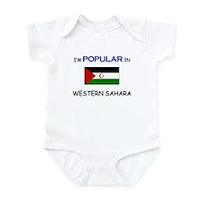 I'm Popular In WESTERN SAHARA Infant Bodysuit