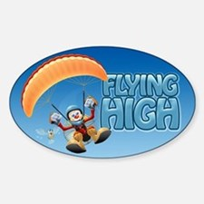 Flying High Paramotor Oval Decal