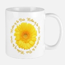 Yellow Daisy Mother of the Bride Mug