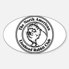 NALRC Oval Decal
