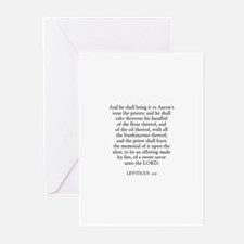 LEVITICUS  2:2 Greeting Cards (Pk of 10)