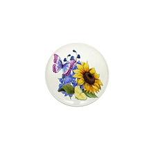 Sunflower Mix Mini Button (10 pack)