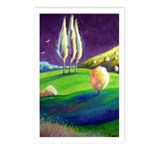 THREE TREES Postcards (Package of 8)