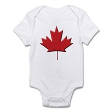 Canada Maple leaf Infant Bodysuit