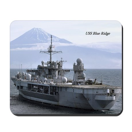 USS Blue Ridge Mousepad