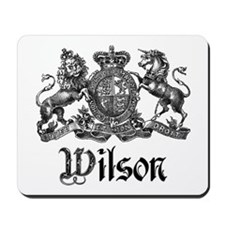 Wilson Vintage Crest Family Name Mousepad