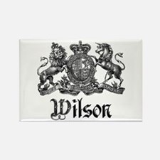 Wilson Vintage Crest Family Name Rectangle Magnet