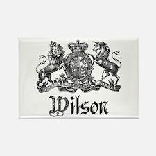 Wilson Vintage Crest Family Name Rectangle Magnet