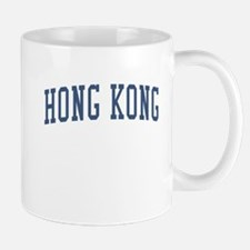 Hong Kong Blue Mug