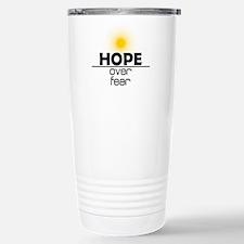 Hope Over Fear Travel Mug