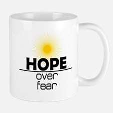 Hope Over Fear Mug