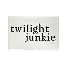 Twilight Junkie Rectangle Magnet