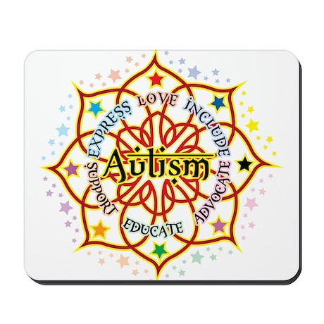 Autism Lotus Mousepad