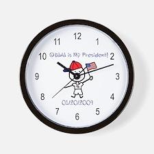 Obama - My President Wall Clock