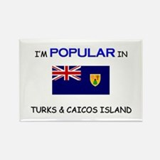 I'm Popular In TURKS & CAICOS ISLAND Rectangle Mag