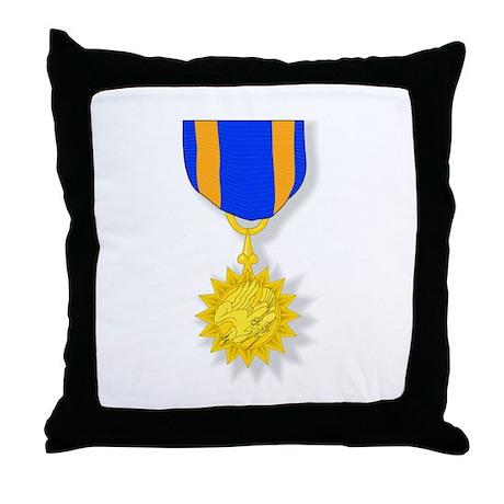 Air Medal Throw Pillow
