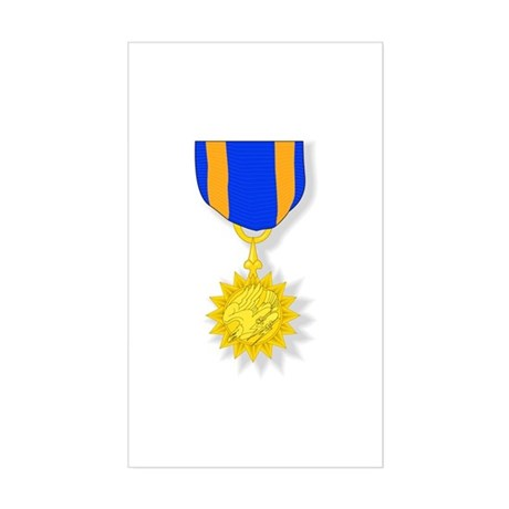 Air Medal Rectangle Sticker