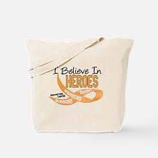 I Believe ENDOMETRIAL CANCER Tote Bag