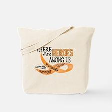 Heroes Among Us ENDOMETRIAL CANCER Tote Bag